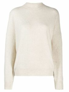 IRO turtleneck loose-fit jumper - White