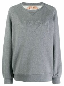 Nº21 oversized knitted sweater - Grey