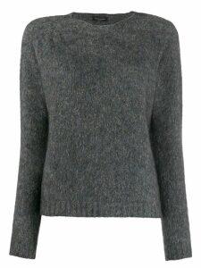 Roberto Collina round neck pullover - Grey