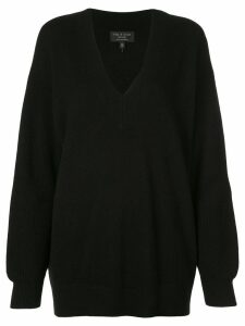 Rag & Bone relaxed-fit cashmere sweater - Black