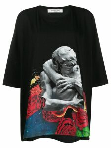Valentino oversized graphic printed T-shirt - Black