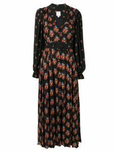 Gül Hürgel floral print maxi dress - Black