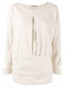 Nehera smock blouse - White