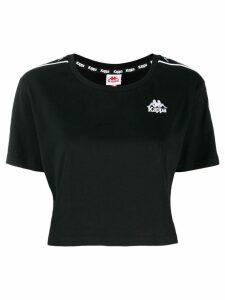 Kappa logo tape T-shirt - Black