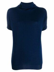 Zanone roll neck jumper - Blue
