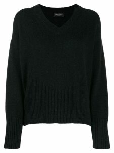 Roberto Collina V-neck sweater - Black