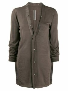 Rick Owens button-up knitted cardigan - NEUTRALS