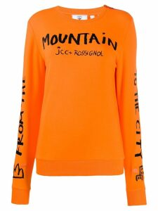 Rossignol JC de Castelbajac Women JCC sweatshirt - Orange