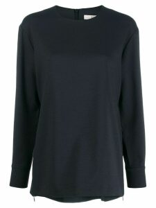 Tibi round neck blouse - Black
