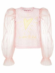 Viktor & Rolf My Heart Will Go On blouse - PINK