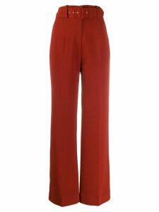 Emilia Wickstead Jana trousers - Red