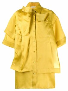 Nina Ricci reconstructed fluid shirt - Yellow