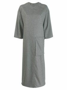 Toogood short-sleeve oversized dress - Grey