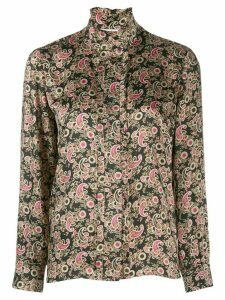 Sandro Paris paisley print shirt - Black