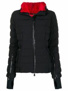 Moncler Grenoble front zip puffer jacket - Black