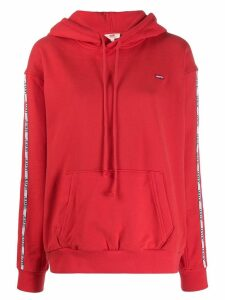 Levi's logo band hoodie - Red