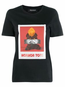 Neil Barrett polaroid T-shirt - Black