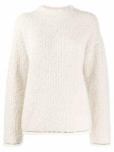3.1 Phillip Lim Boucle Turtleneck Sweater - NEUTRALS