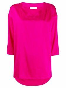 Fabiana Filippi V-neck blouse - PINK