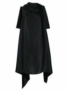 Neil Barrett draped blouse - Black