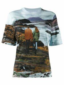 Chloé graphic print T-shirt - Brown