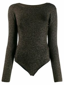 Forte Forte glitter knitted body - Black