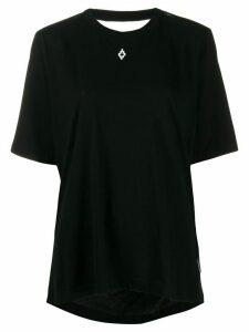 Marcelo Burlon County Of Milan Love T.T.E. open back T-shirt - Black