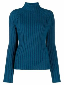 Holland & Holland ribbed knit jumper - Blue