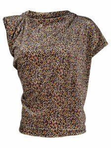 Vivienne Westwood asymmetric sleeves T-shirt - Black