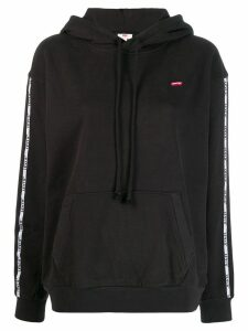 Levi's logo band hoodie - Black