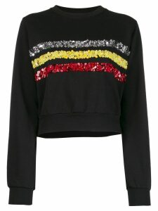 No Ka' Oi rush sweater with embroidery - Black
