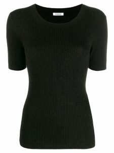 P.A.R.O.S.H. glitter detail knitted top - Black