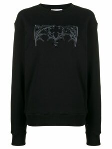JW Anderson gates embroidered sweatshirt - Black