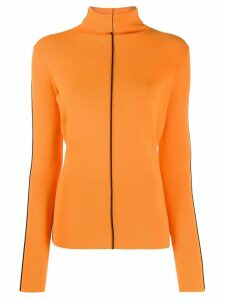 Victoria Victoria Beckham turtleneck jumper - ORANGE