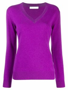 Fabiana Filippi knitted top - PURPLE