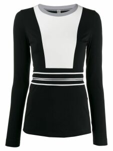 No Ka' Oi intrigue long sleeve sweater - Black