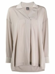 Lorena Antoniazzi flowing shirt - Grey