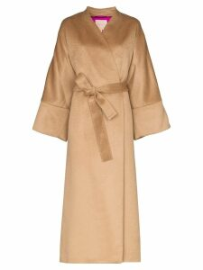 Roksanda Larisa oversized wrap coat - NEUTRALS