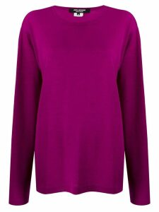 Junya Watanabe oversized sweatshirt - PURPLE