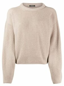 Canessa cable knit jumper - NEUTRALS
