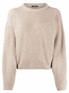 Canessa cable knit jumper - Neutrals