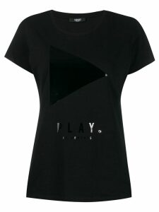 LIU JO Play Button T-shirt - Black