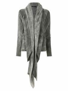 Uma Raquel Davidowicz Delano tint hooded cardigan - Grey