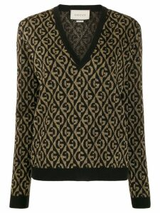 Gucci G rhombus jumper - Black