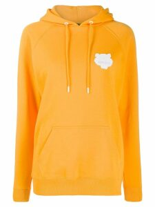Kenzo logo print hoodie - Orange