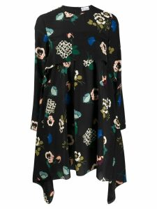 Red Valentino RED Valentino floral print handkerchief longsleeved