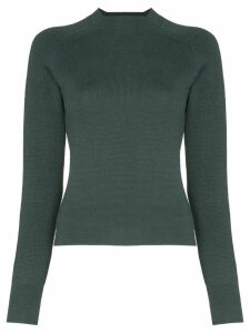 Carcel slim-fit knitted jumper - Green