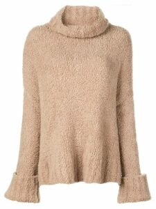Adam Lippes roll neck jumper - Brown