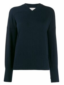 Sportmax long-sleeve fitted sweater - Blue
