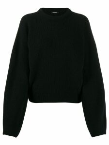 Canessa ribbed knit jumper - Black